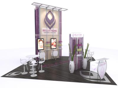 VK-1324 10 Ft Visionary Designs |  Trade Show Displays