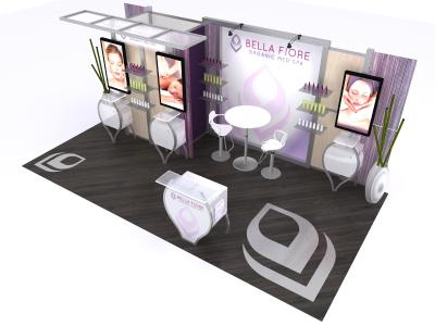 VK-2926 20 Ft Visionary Designs   | Trade Show Displays