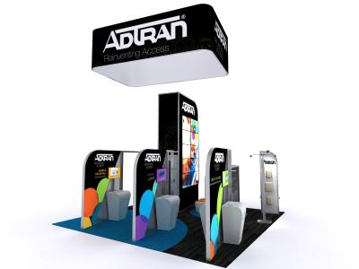 DM-1050 Hybrid Exhibit | Custom Modular Hybrid Displays