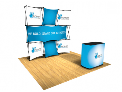 Pop Up Table Top Display | Express Kit D left