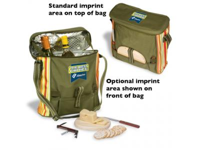 Promotional Giveaway Bags   Daypack Picnic Cooler