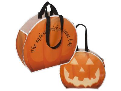 Promotional Giveaway Totes & Bags | Large Round Reflective Tote Bag
