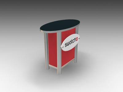 MOD-1266 Modular   Counters Pedestals Kiosks & Workstations