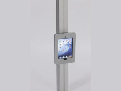 MOD-1318 Swivel iPad Clamshell | Trade Show Displays