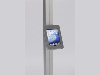 MOD-1317 Swivel iPad Clamshell   Trade Show Displays