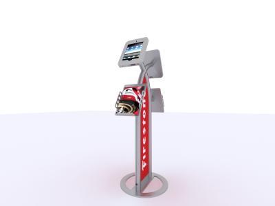 MOD-1355 iPad Kiosk | Trade Show Displays
