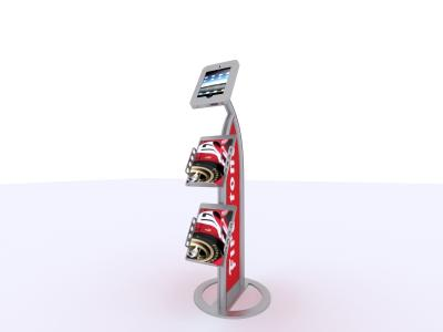 MOD-1357 iPad Kiosk | Trade Show Displays