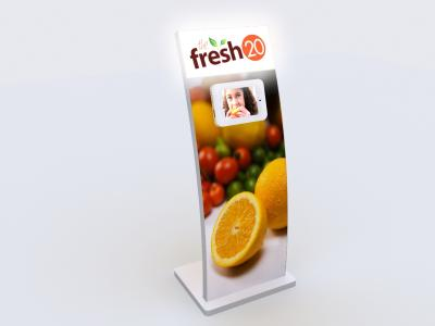 MOD-1362 iPad Lightbox | Trade Show Displays