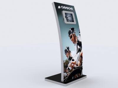MOD-1363 iPad Lightbox | Trade Show Displays