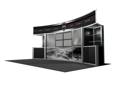 Visions Custom Modular Hybrid Displays | VK-2011 20 Foot Visions Display