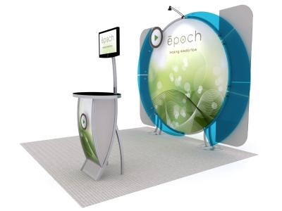 VK-1320 10 Ft Visionary Designs |  Trade Show Displays