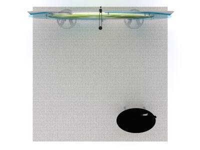 VK-1320 10 Ft Visionary Design Floorplan   Custom Modular Hybrid Displays