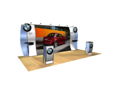 Ben Jamin - Perfect 20 Trade Show Displays | Custom Modular Hybrid Displays