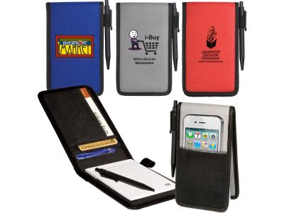 Promotional Giveaway Notes & Office Notepads | Pocket Jotter/Organizer