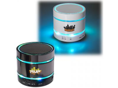 Promotional Giveaway Technology   Disco Lights Bluetooth Speaker