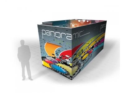 Panoramic Room B | Trade Show Displays