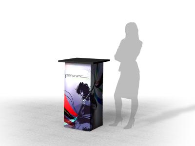 Panoramic Counter A | Trade Show Displays