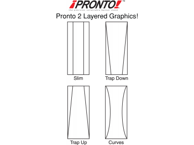 Banner Stands | Pronto 2 Layered Shapes
