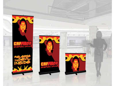 Banner Stands   Quickscreen Retractable 1-2-3 pole heights