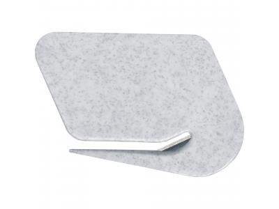 Promotional Giveaway Office | Letter Opener Gray Granite