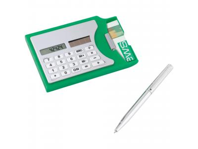 Promotional Giveaway Technology | Calculator & Business Card Holder
