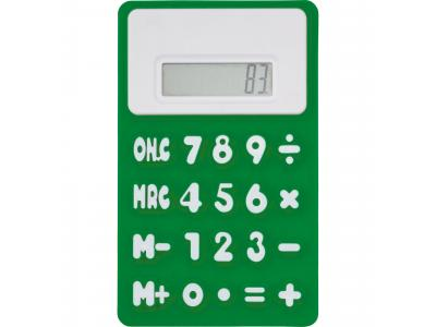 Promotional Giveaway Technology | The Flex Calculator Kelly Green