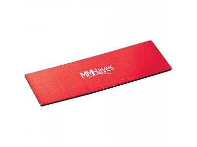 Promotional Giveaway Office | Magnetic Bookmark Red