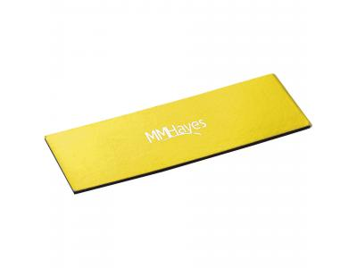 Promotional Giveaway Office | Magnetic Bookmark Yellow