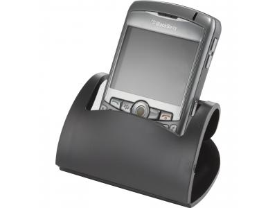Promotional Giveaway Technology | Hold That! Mobile Phone Holder Black
