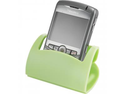Promotional Giveaway Technology | Hold That! Mobile Phone Holder Lime Green
