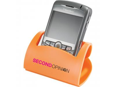 Promotional Giveaway Technology | Hold That! Mobile Phone Holder Orange