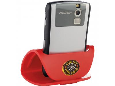 Promotional Giveaway Technology | Hold That! Mobile Phone Holder Red