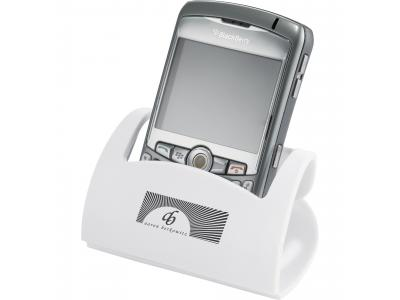 Promotional Giveaway Technology | Hold That! Mobile Phone Holder White