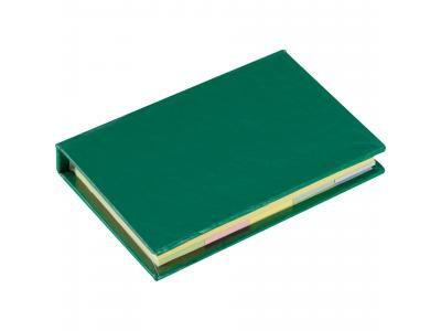 Promotional Giveaway Office | Lil Sticky Notes Book Green