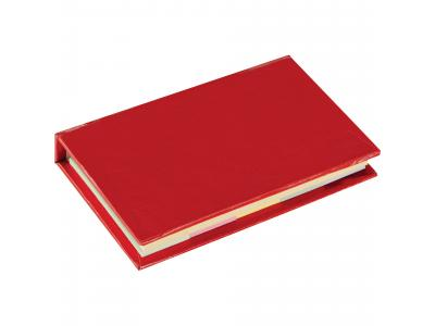 Promotional Giveaway Office | Lil Sticky Notes Book Red