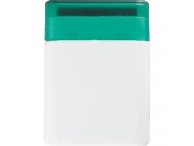 Promotional Giveaway Technology | The Desk Pal White with Green Trim