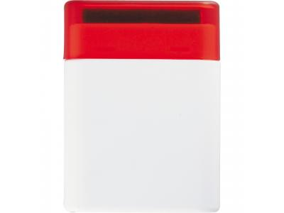 Promotional Giveaway Technology | The Desk Pal White with Red Trim