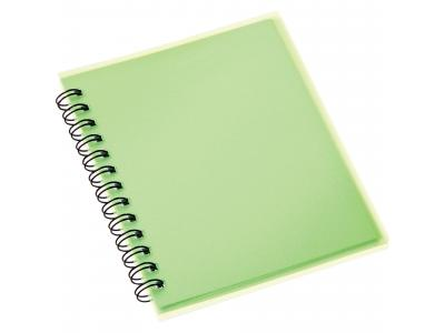 Promotional Giveaway Office | The Duke Spiral Notebook Translucent Green