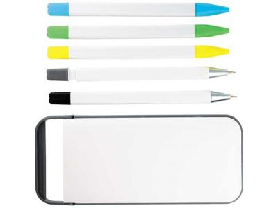 Promotional Giveaway Writing Instruments | The Pocket Pal White
