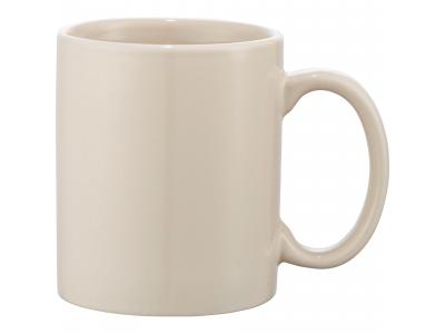 Promotional Giveaway Drinkware | Bounty 11-Oz. Ceramic Mug Cream