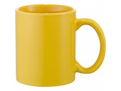 Promotional Giveaway Drinkware | Bounty 11-Oz. Ceramic Mug Yellow