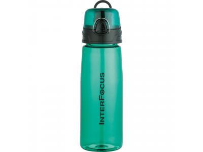 Promotional Giveaway Drinkware | Capri 25-Oz. Tritan Sports Bottle Trans Green