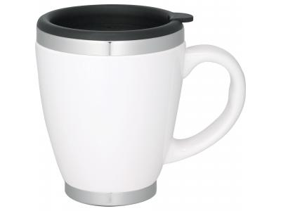Promotional Giveaway Drinkware | Collier 14-Oz. Ceramic Coffee Mug