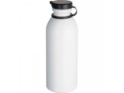 Promotional Giveaway Drinkware | Milk Maid 24-Oz. Aluminum Sports Bottle White