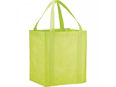 Promotional Giveaway Bags | The Hercules Grocery Tote Lime Green