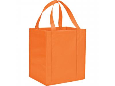 Promotional Giveaway Bags | The Hercules Grocery Tote Orange