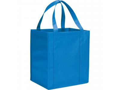 Promotional Giveaway Bags | The Hercules Grocery Tote Process Blue