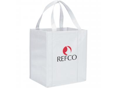 Promotional Giveaway Bags | The Hercules Grocery Tote White