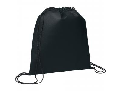 Promotional Giveaway Bags | The Evergreen Drawstring Cinch Backpack Process Blk
