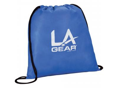 Promotional Giveaway Bags | The Evergreen Drawstring Cinch Backpack Royal Blue